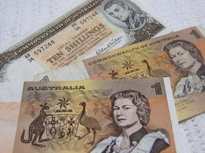 Australian old currency