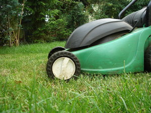 Lawnmower: It's time to take care about the garden :-)