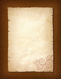 Background 2: A vintage background with a spiral design.