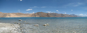 Pangong Lake - Panorama