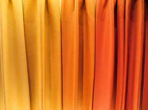 leather rainbow curtain