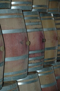 Wine cellar 4: Wine cellar with barrel