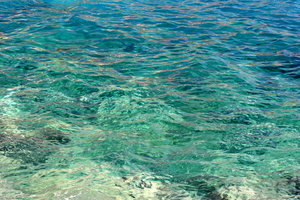 Clear Blue Sea: Background image of Clear Blue Sea