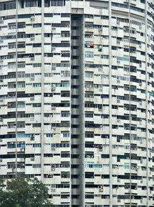 living high: high rise apartment blocks