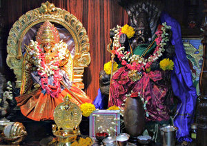 decorated deities