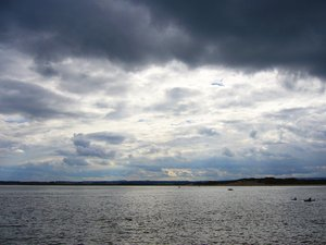 Sea and Sky at Beadnell, North