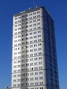 Tower Block - Bewick Court, Ne