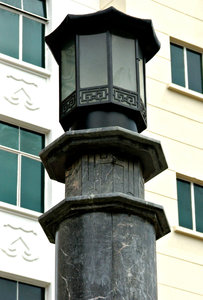 Chinese street lamp-post