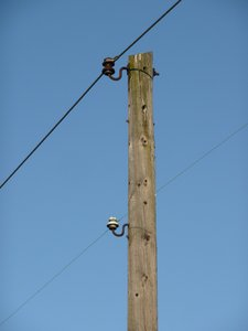 Vintage Power Pole