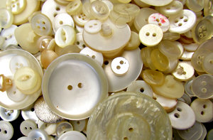 pearly buttons