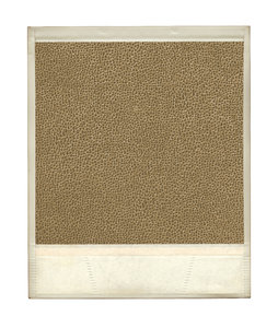 Texture Pic: A photo frame with a leather texture.