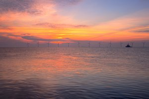 Oceanbased windturbines - HDR