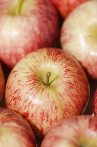 Apples: Apple texture