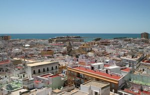 Cadiz suburb: A suburb in Cadiz, Spain.