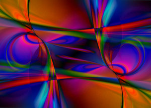Psychadelic Abstract Swirls