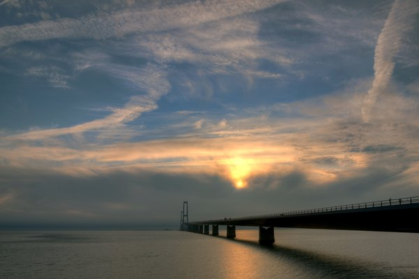 Bridge and Sky - HDR