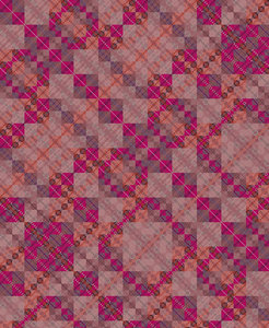 pink plaid tablecloth