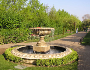 Fountain in the park