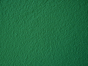 green textured wall surface