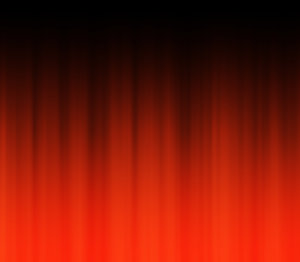 Curtain Call 3: A red curtain background or backdrop.