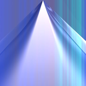 Curtain Call 1: A blue curtain background or backdrop.