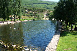 Rio Jerte: Natural pool river Jerte in Caceres, Spain