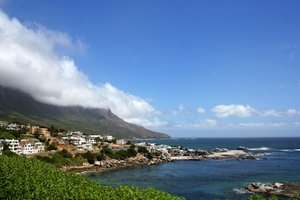 Cape Town: Coastal scenery from Cape Town, South Africa.
