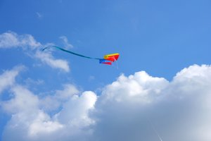 kite 2: kite on the sky
