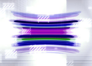 Futuristic Techno: A futuristic techno image which would make a great background. Very colourful.