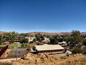 A town like Alice1: looking out over the central Australian township of Alice Springs