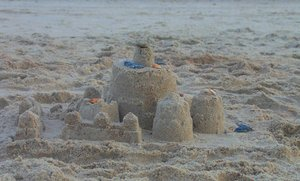 Shells & Sandcastle