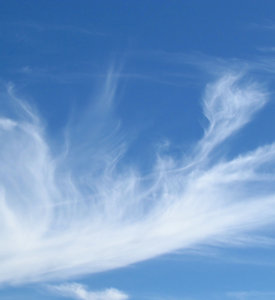 wispy clouds15: fine wispy cloud formations