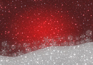 Christmas Greetings 4: A starry, shiny Christmas greeting, background, cover, card or illustration in red and white. You may prefer:  http://www.rgbstock.com/photo/nPLS8ny/Sparkles+and+Snowflakes+3  or:  http://www.rgbstock.com/photo/2dyVQYr/Abstract+Christmas+Tree