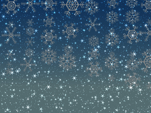 Stars Snowflakes Background 1