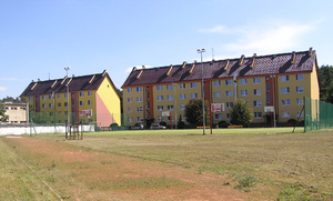 Houses: Housing in Białobrzegi.
