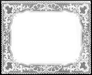 English Lace Border