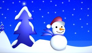 Snowman 3: A cute little snowman with a snow-covered tree in the background, and a twinkling, star filled sky. You may prefer:  http://www.rgbstock.com/photo/2dyVR4H/Snowman+Graphic  or:  http://www.rgbstock.com/photo/2dyX13u/Snowman+2