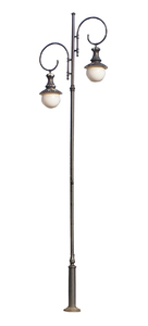Street lamp: A lamp isolated.