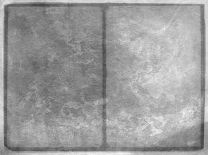 Grunge Pages 5: A grungy textured background divided into two sections, which could be pages or tables of stone.