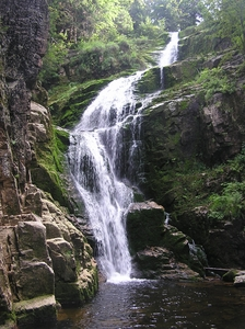 Kamienczyk waterfall: The biggest waterfall in Polish part of Sudety mountains.
