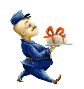 Postman: It could be useful to illustrate mail delivery or gift giving in blogs etc.