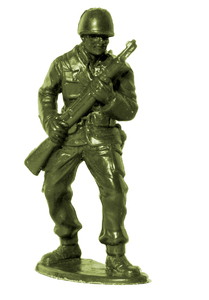 Plastic Army Man 8: Plastic toy soldier