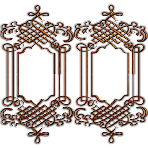 Golden Ornate Border 10