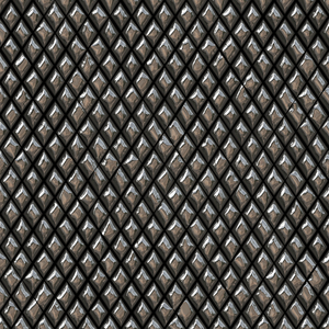3D Tile 2: Tilable gold or bronze tiles on black background with a 3d effect. You may prefer this:  http://www.rgbstock.com/photo/nUlqg16/3D+Tile+1