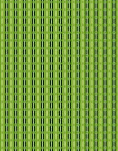 green bead curtain