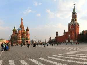 Red Square on Sunday