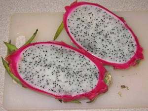 Dragonfruit Halves