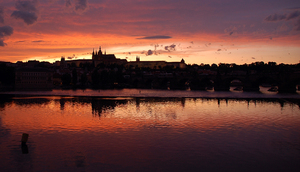 Sunset in Prague 1