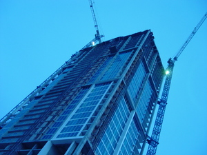 building the skyscraper