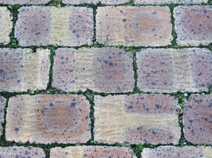patterned pavement26: pavement area with various patterned surfaces
